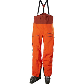 Helly Hansen Odin Mountain 3L Shell Bib Pants Men, patrol orange